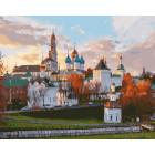 Сергиев Посад Раскраска картина по номерам на холсте GX25678