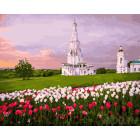 Церковь Вознесения Раскраска картина по номерам на холсте GX25675