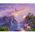 Этот волшебный мир Раскраска картина по номерам на холсте