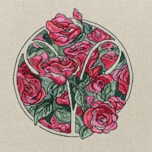 Овен (Цветочный гороскоп) Набор для вышивания Золотое Руно ЦГ-001