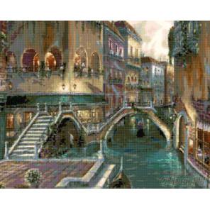 Схема Венецианские каникулы Алмазная вышивка мозаика DI-RF04