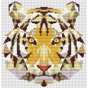 Тигр Набор для вышивания KR-001