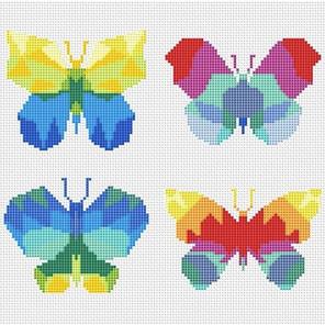 Бабочки Набор для вышивания KR-013