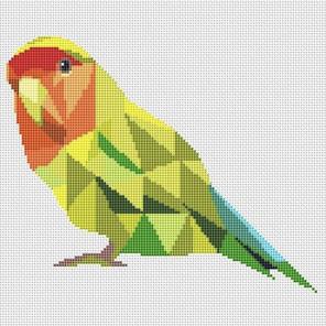 Попугай Набор для вышивания KR-015