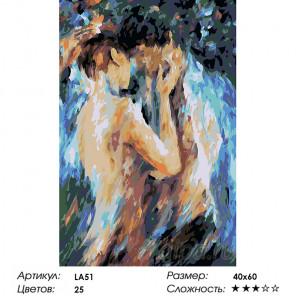 1 Поцелуй страсти (художник Леонид Афремов) Раскраска по номерам на холсте Живопись по номерам