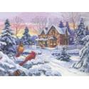 Зимние воспоминания 35155 Набор для вышивания Dimensions