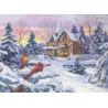 Зимние воспоминания 35155 Набор для вышивания Dimensions ( Дименшенс )