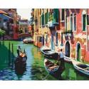 Венеция Раскраска по номерам на холсте Iteso