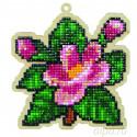 Цветочный аромат Алмазная мозаика подвеска Гранни Wood