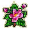 Цветочный аромат Алмазная мозаика подвеска Гранни Wood W0135