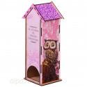 Совушки Чайный домик с алмазной мозаикой Гранни