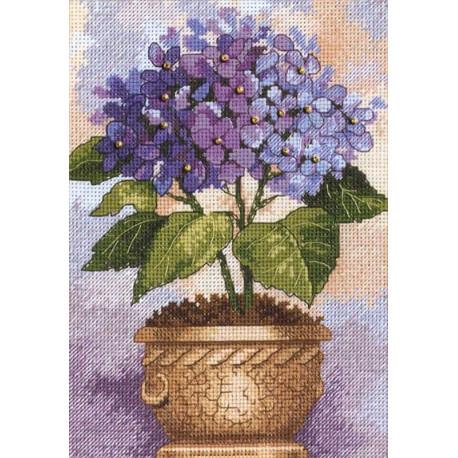 Цветущая гортензия 06959 Набор для вышивания Dimensions ( Дименшенс )