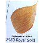 2480 Королевское золотоМеталлик Акриловая краска FolkArt Plaid