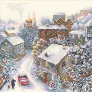 Снежная зима Набор для вышивания Риолис 1678