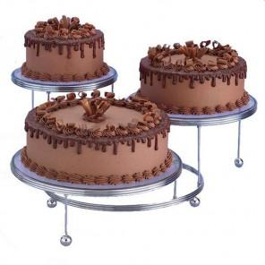 Металлическая подставка для трех тортов Wilton ( Вилтон )