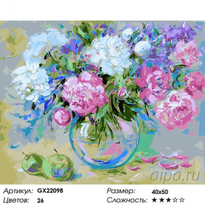 Весеннее наслаждение Раскраска по номерам на холсте GX22098