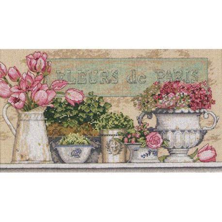 Цветы Парижа 35204 Набор для вышивания Dimensions ( Дименшенс )