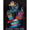 Полные кружки кофе латте Набор для вышивания Dimensions