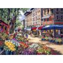 Рынок в Париже 35256 Набор для вышивания Dimensions
