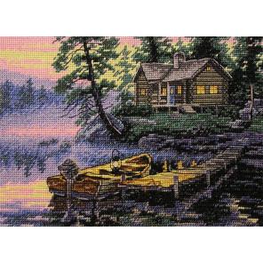 Утро на озере 65091 Набор для вышивания Dimensions ( Дименшенс )