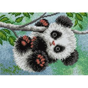 Малыш панда Алмазная мозаика на магнитной основе V-107