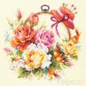 Розы для мастерицы Набор для вышивания Чудесная игла