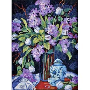Тюльпаны и сирень 20067 Набор для вышивания Dimensions ( Дименшенс )