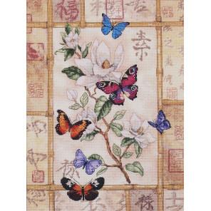 Сверкающие бабочки 35063 Набор для вышивания Dimensions ( Дименшенс )