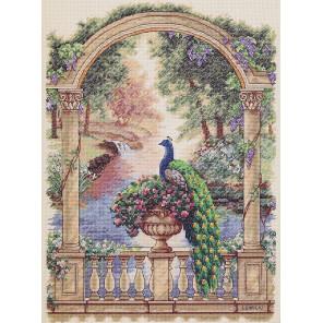 Величественный павлин 35110 Набор для вышивания Dimensions ( Дименшенс )