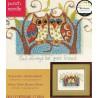 Внешний вид упаковки Совы - ваши верные друзья 73399 Набор для вышивания Dimensions ( Дименшенс )