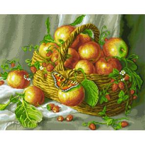 Яблочки Алмазная мозаика вышивка Паутинка М-259