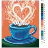 Схема Аромат любви Раскраска по номерам на холсте Живопись по номерам RA177