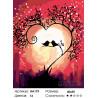 Количество цветов и сложность Песня любви Раскраска по номерам на холсте Живопись по номерам RA179