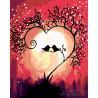 Песня любви Раскраска по номерам на холсте Живопись по номерам RA179