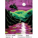 Количество цветов и сложность Волшебная ночь Раскраска по номерам на холсте Живопись по номерам RA204