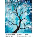Количество цветов и сложность Цветущая яблоня Раскраска по номерам на холсте Живопись по номерам RA208