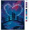 Схема Магия любви Раскраска по номерам на холсте Живопись по номерам RA209