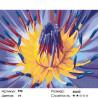 Количество цветов и сложность Сердце цветка Раскраска по номерам на холсте Живопись по номерам F50