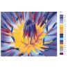 Схема Сердце цветка Раскраска по номерам на холсте Живопись по номерам F50