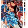 Схема Испанские танцы Раскраска по номерам на холсте Живопись по номерам RO36