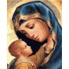 Мадонна с Младенцем Раскраска по номерам на холсте GX25582