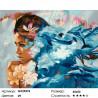 Количество цветов и сложность Морские глубины Раскраска по номерам на холсте GX25376