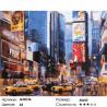 Количество цветов и сложность Нью Йорк Раскраска по номерам на холсте GX8136