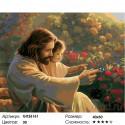 Вместе с Богом Раскраска по номерам на холсте