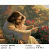 Количество цветов и сложность Вместе с Богом Раскраска по номерам на холсте GX26161
