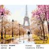 Количество цветов и сложность Прогулка в парке Раскраска по номерам на холсте GX26095