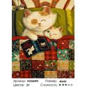 Количество цветов и сложность Сказки на ночь Раскраска по номерам на холсте GX26094