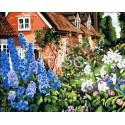Роскошный сад Раскраска по номерам на холсте Iteso