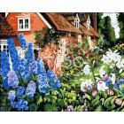 Роскошный сад Раскраска по номерам акриловыми красками на холсте Iteso