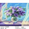 Количество цветов и сложность Букет сирени Раскраска по номерам на холсте GX26005